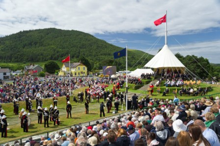 Tynwald Day at St Johns