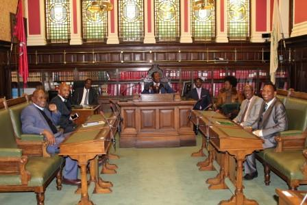 A Delegation from the National Assembly of the Republic of Kenya has completed a study visit to Tynwald
